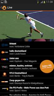 Zattoo Live TV - Sport, News.. - screenshot thumbnail