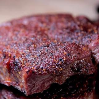 Smoked Flat Iron Steaks