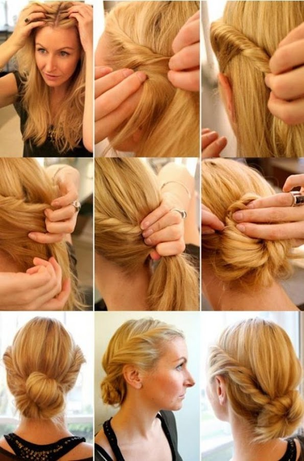 easy way to style hair hair styling step by step android apps on play 4166