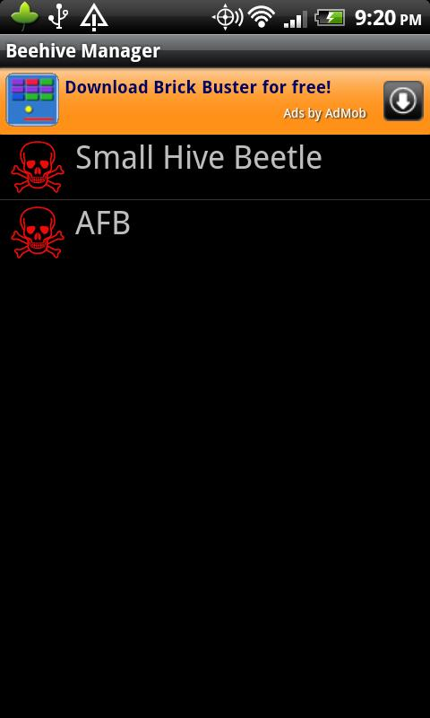 Beehive Manager- screenshot
