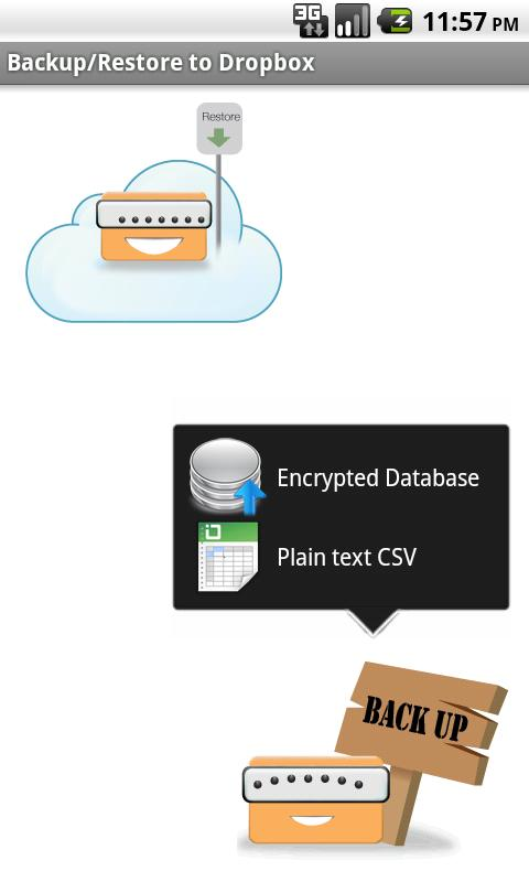 Tiny Password - screenshot