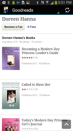 【免費書籍App】Author Doreen Hanna-APP點子