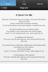 Black Veil Brides All Lyrics - screenshot thumbnail