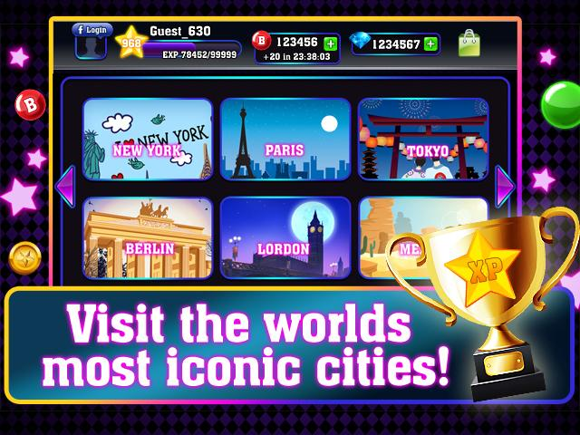 Bingo City Tour - screenshot