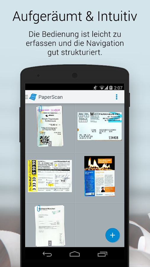 PaperScan – Screenshot