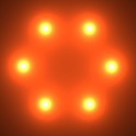 Nexus Glow Spheres HD PRO LWP icon