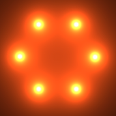 Nexus Glow Spheres HD PRO LWP