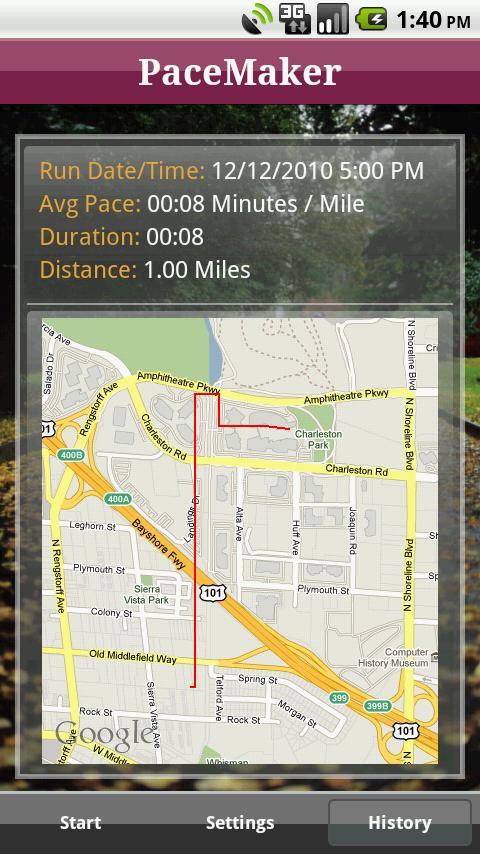 Run Faster (Pace)- screenshot