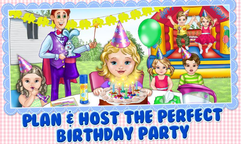 Baby Birthday Party Planner - screenshot