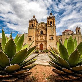 Santo Domingo by Gliserio Castañeda G - Buildings & Architecture Public & Historical