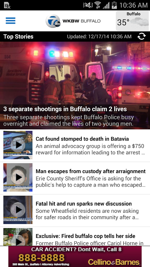 WKBW TV Buffalo - screenshot