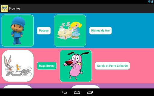 【免費媒體與影片App】Dibujitos Free-APP點子
