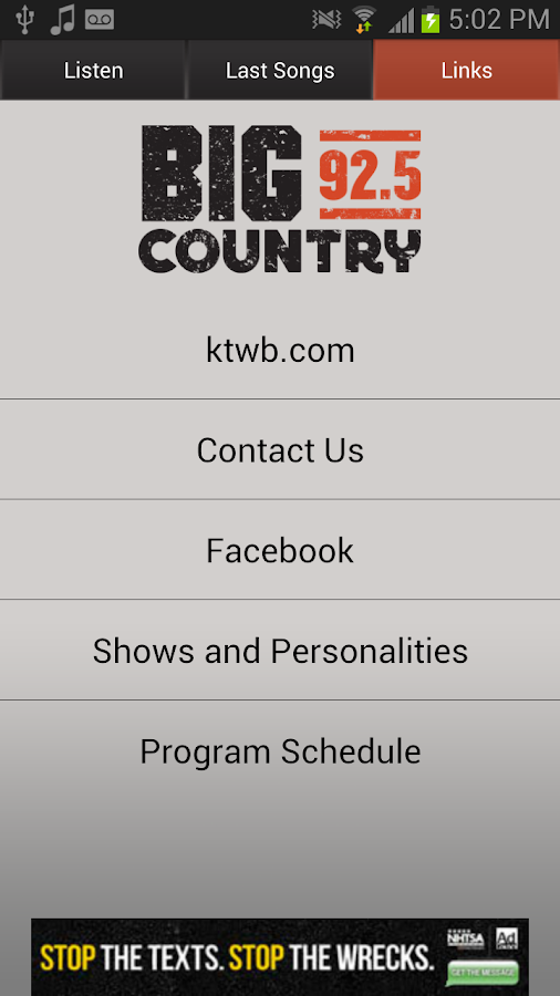 Big Country 92.5 KTWB - screenshot