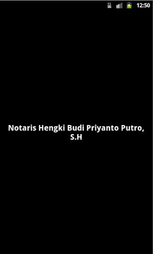 Notaris Hengki Budi