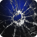 Cracked screen Live Wallpaper icon
