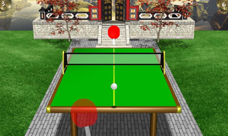 Zen Table Tennis Lite- screenshot
