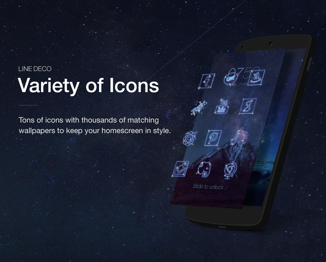 Wallpapers Icons LINE DECO Android Apps On Google Play