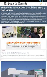 El Siglo de Torreón - screenshot thumbnail