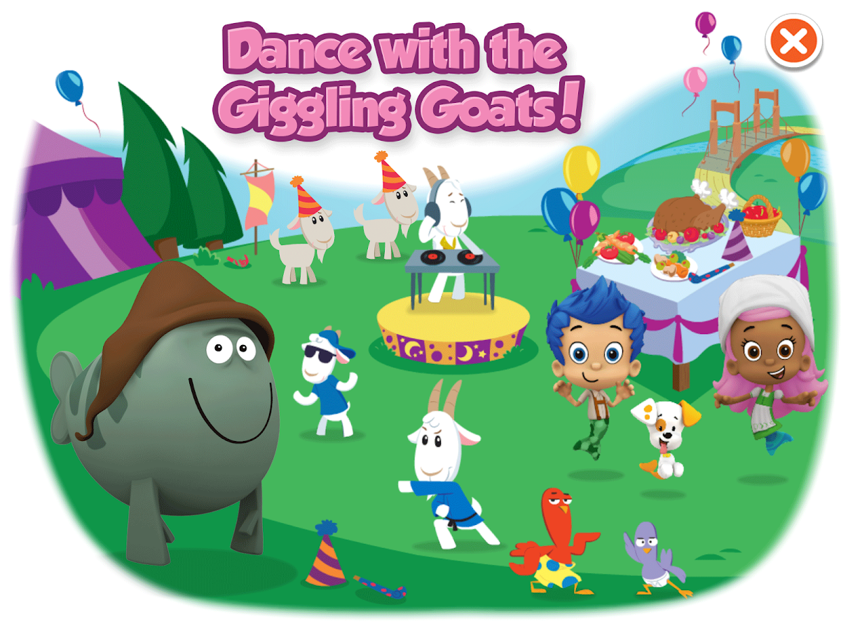 bubble guppies grumpfish android apps on google play
