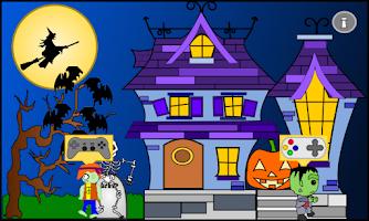 Screenshot of haunted mansion halloween