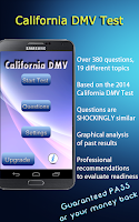 Screenshot of California DMV Test 2015 Free!