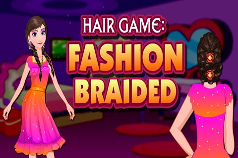 Hair Game : Fashion Braided