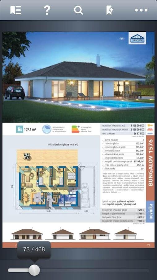 Rodinné domy Euroline 952 CZ - screenshot
