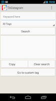 Screenshot of TAGstagram - IG TAG searcher