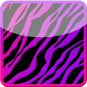 GO Contacts Girly Zebra Theme icon