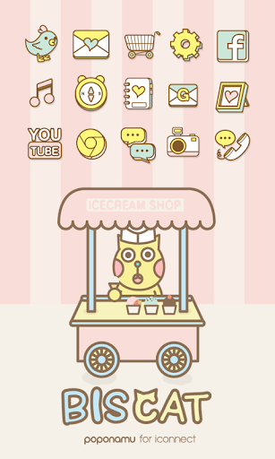 Biscuit icecream icon theme