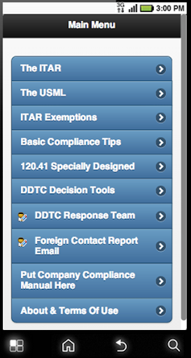 ITAR-App