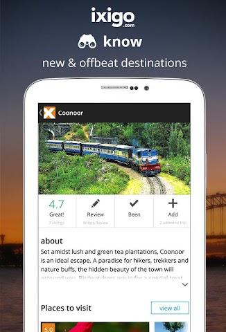 Screenshots for flights hotels travel booking