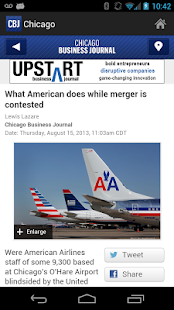 Chicago Business Journal - screenshot thumbnail