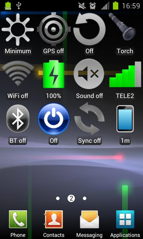 Widget WiFi- screenshot