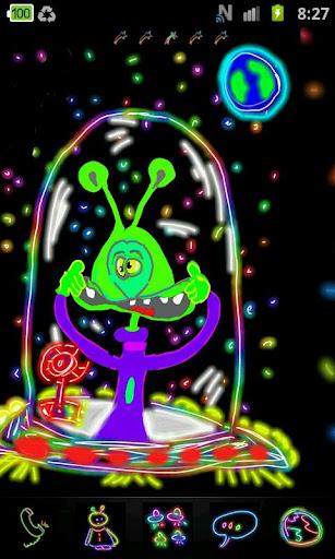 Go Launcher Extraterrestrial