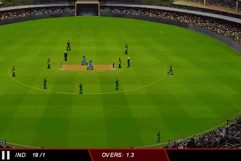 ICC Cricket WC 2011 Trial - screenshot