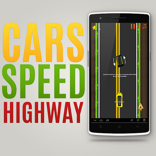 Cars Speed Highway