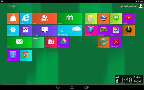 Metro UI Launcher 8.1 - screenshot thumbnail