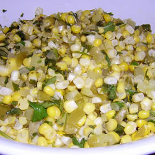 Corn and Tomatillo Salsa