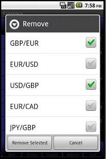 Forex árfolyamok – képernyőkép indexképe