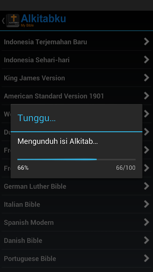 Alkitabku: Bible & Devotional - screenshot