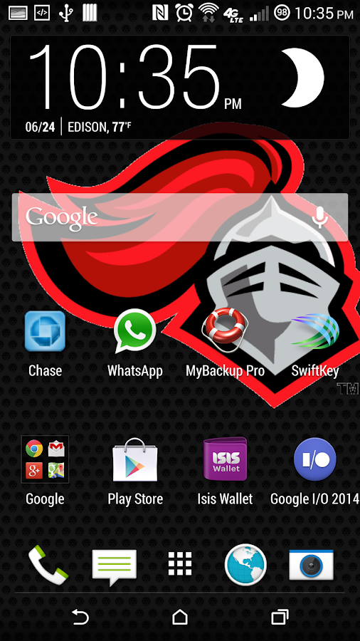 Rutgers Scarlet Knight LWP - screenshot