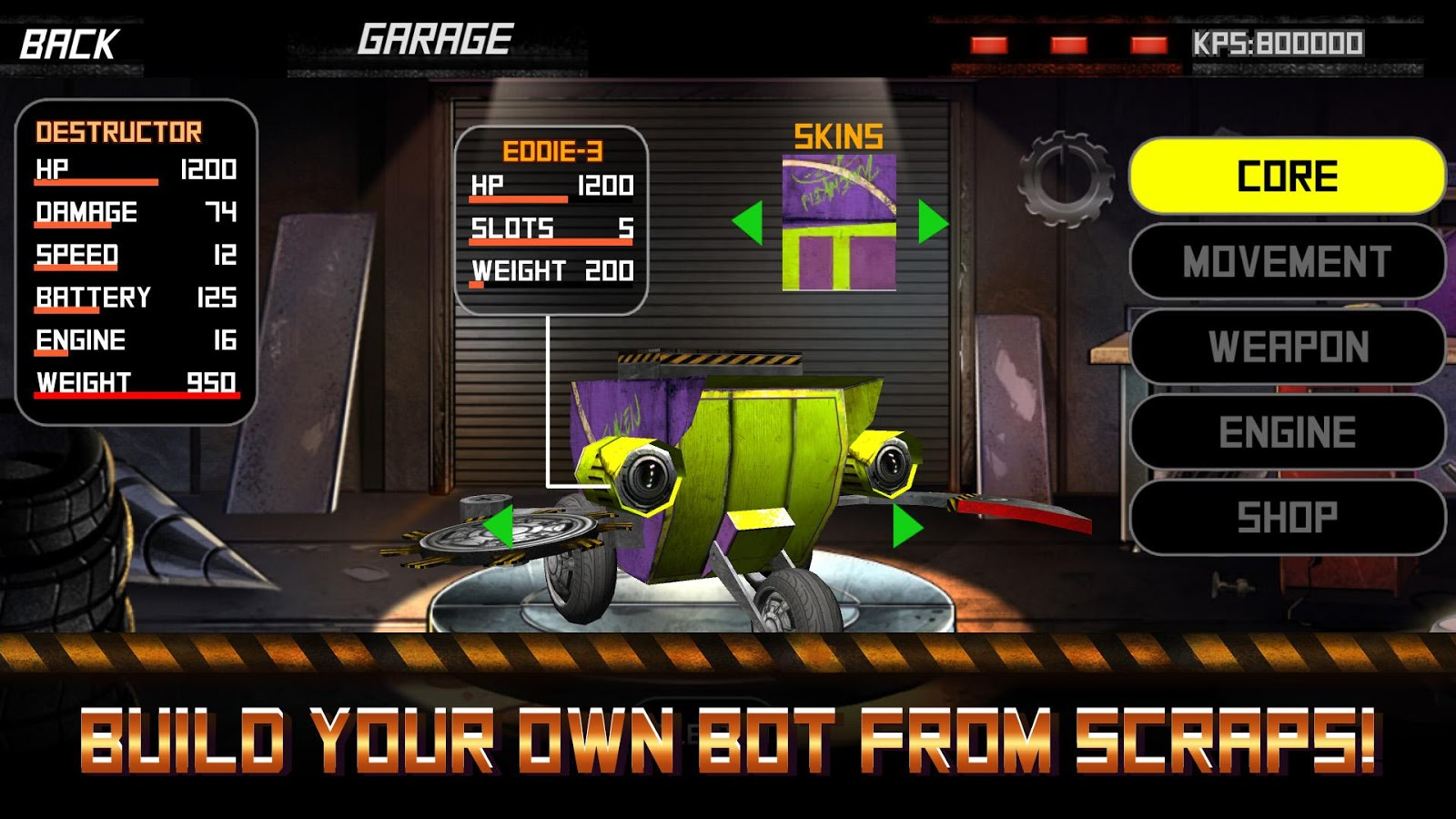 Rumble Bots- screenshot