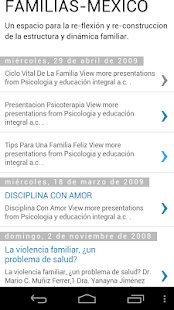 FAMILIAS-MÉXICO- screenshot thumbnail