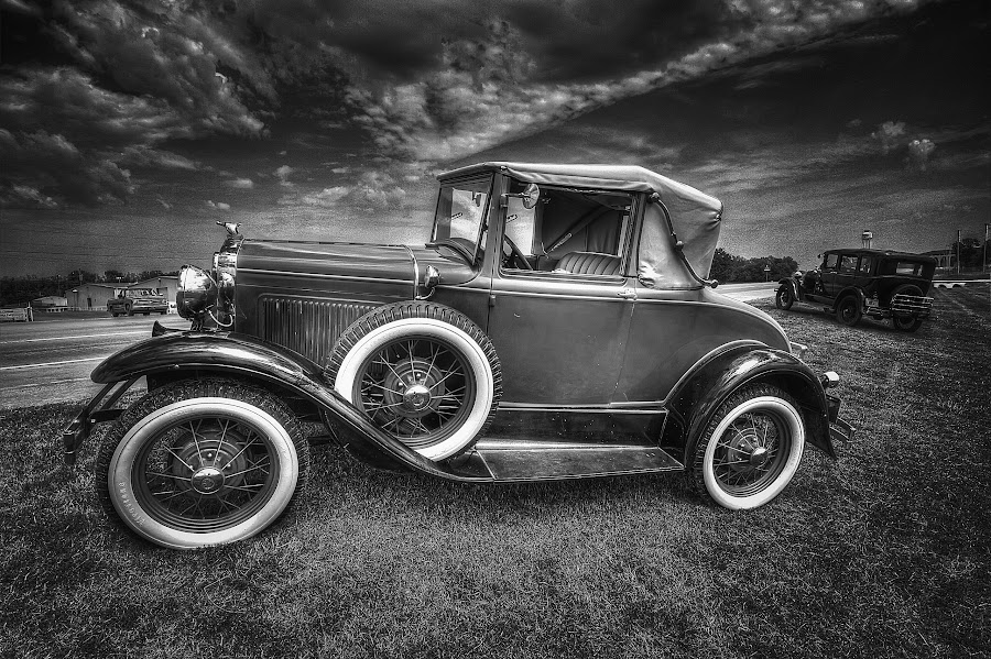 Model A by Ron Meyers - Black & White Objects & Still Life