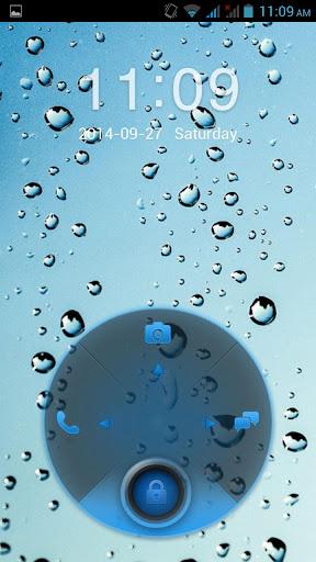 【免費個人化App】Droplets HD Lockscreen-APP點子