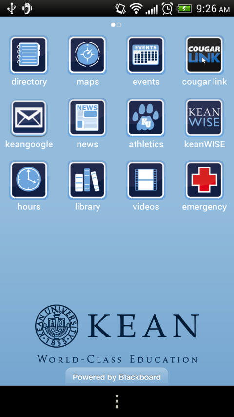 Kean Mobile - screenshot