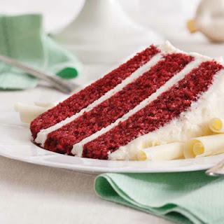 Vanilla Red Velvet Cake Recipes.