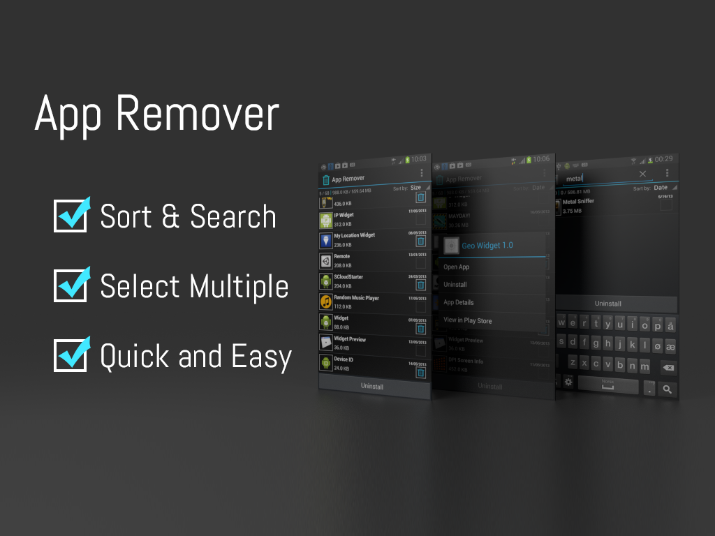 App Remover- screenshot