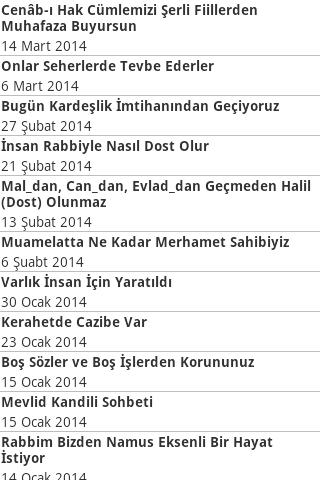 Osman Nuri Topbaş Sohbetleri